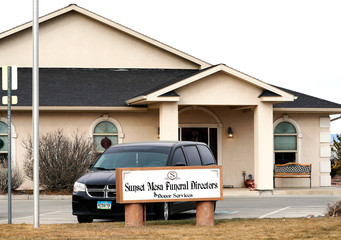 The Sunset Mesa Funeral Directors and Donor Services building in Montrose