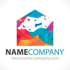 logo peintre artisan bâtiment décorateur conseil
