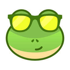 Cool Frog Expression