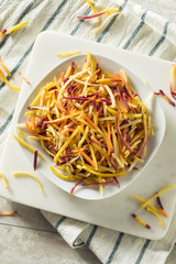 Raw Organic Shredded Heirloom Carrots