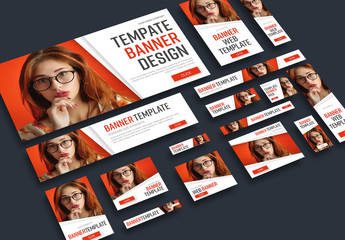Web Banner Layout Set 1