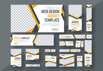 Web Banner Layout Set 3