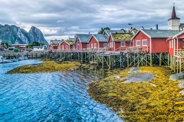 Reine, Lofoten Islands, Nordland, Norway.