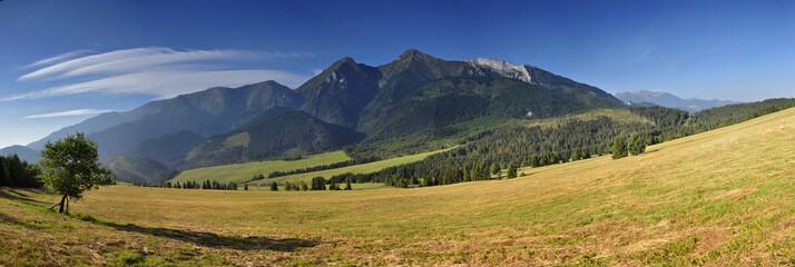 Panorama na Tatry Bielskie