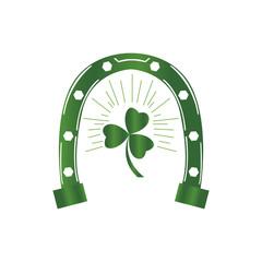 Patrick day horseshoe