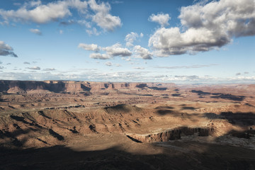 Clouds over canyonlands, Moab, Utah, United States