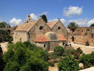 Moniu Arkadiu, Monastery, Crete Greece.