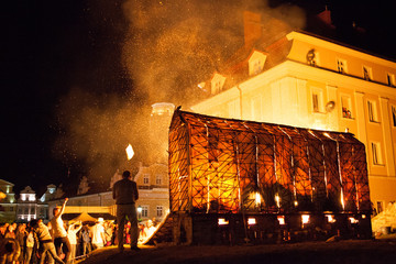 A house of fire. Mateusz Grobelny's oven. Bolesławiec - the city of ceramics