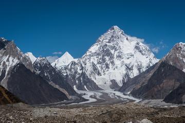 K2 mountain peak, second highest mountain in the world, K2 trek, Pakistan
