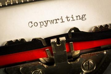 """Macchina da scrivere """"Copywriting"""""""