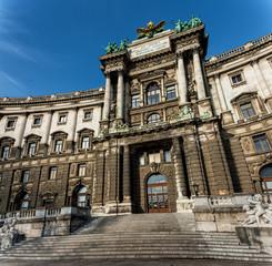 neue Hofburg im Burggarten