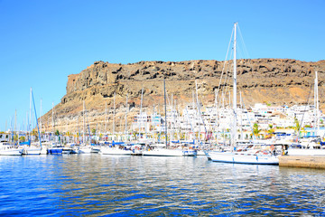 Puerto de Mogán on Gran Canaria Island, Canary Islands, Spain