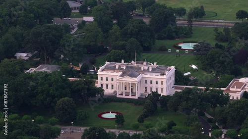 Excellent Washington D C Circa 2017 Aerial View Of White House Download Free Architecture Designs Scobabritishbridgeorg
