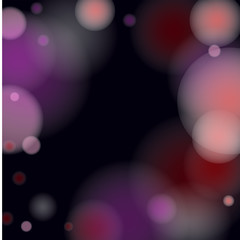 Pink bokeh lights background.