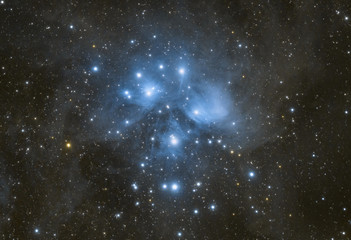 The pleiades in deep space