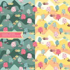 Natural Pattern Springtime Background