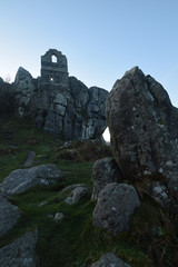 Roche Rock Medieval Chapel Cornwall