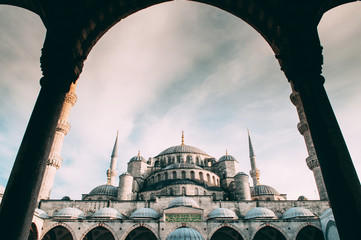 Beautiful Sultanahmed Blue Mosque Istanbul, Turkey