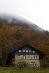 Autumn Home in Switzerland
