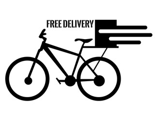 Isolated delivery icon