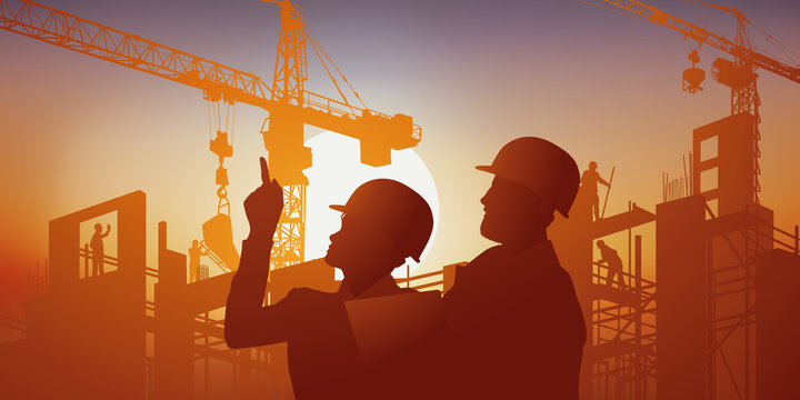 chantier - BTP - architecte - entrepreneur - construction - bâtiment - construire - architecture