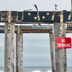 Jersey Shore Pier, Derelict