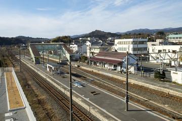 広野駅・1月