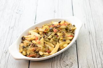 Tasty dish of ratatouille