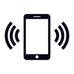 smartphone ringing icon