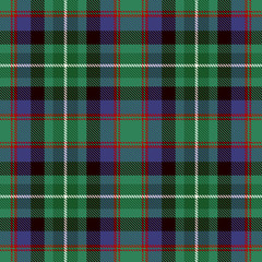 Tartan Seamless Pattern Background