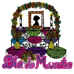 day of the dead altar de muertos 2