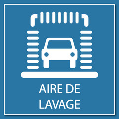 Logo station lavage.