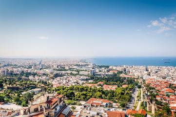 View of Thessaloniki (Greece)