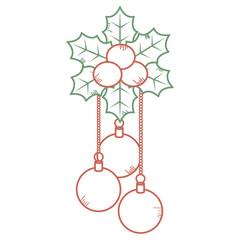 christmas ball hanging icon
