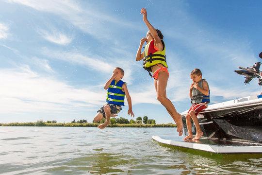 Summer Boating Fun