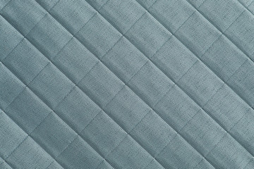sky blue color, square pattern fabric texture, background