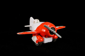 Close-up of Airplane toy