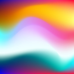 Modern colorful blurry backgrounds with different shades.
