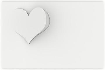 Sfondo biglietto auguri cuore amore. Spazio per testo innamorati e San Valentino..