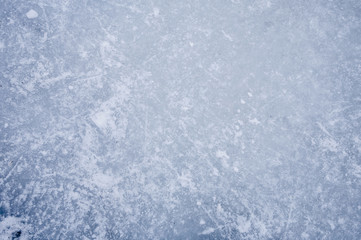 Ice background with texture and detail in white