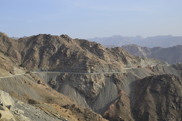 Al Hada Mountain, Al Hada-Taif Road