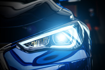 Modern car xenon lamp headlight