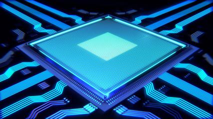 Microprocesseur informatique ordinateur