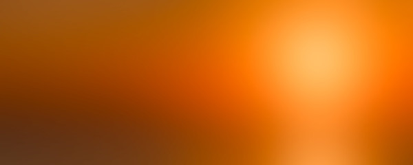 Hot sunset abstract blurred background