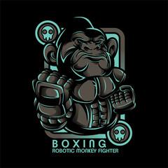 Boxing Monkey