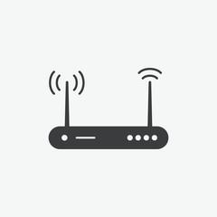 Wifi Router Vector Icon