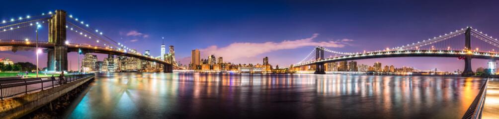 Fotomurales - New York City skyline panorama