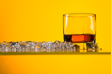 Glass of Whiskey .