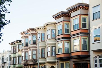 Stores à enrouleur San Francisco Typical buildings in San Francisco.