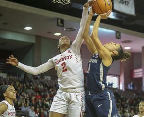 NCAA Womens Basketball: Connecticut at Houston